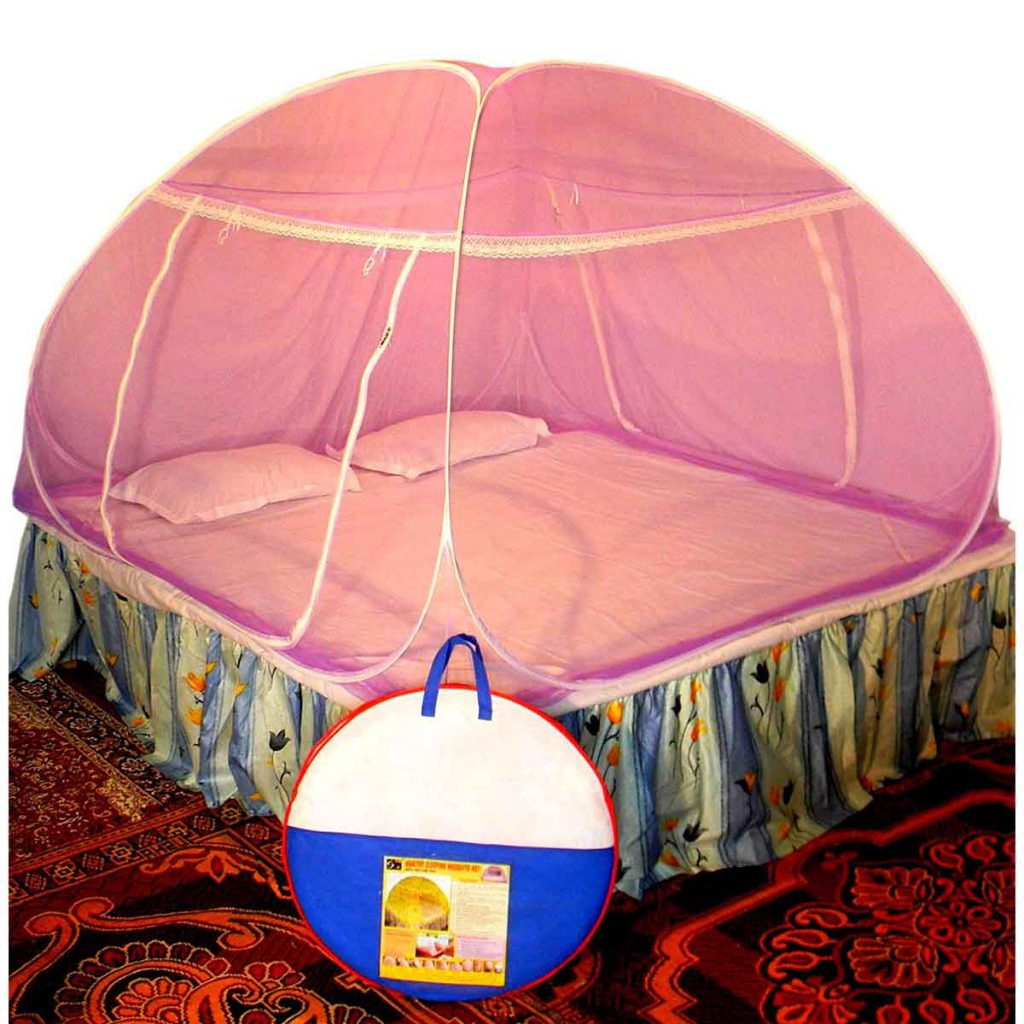 Foldable Net For Double Bed
