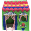 Homecute Hut Type Kids Toys Jumbo Size Play Tent House Green-Pink